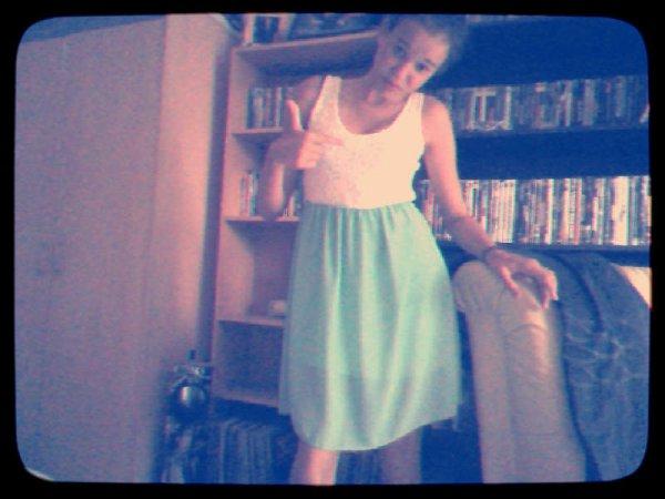 Ma nouvelle robe ;)