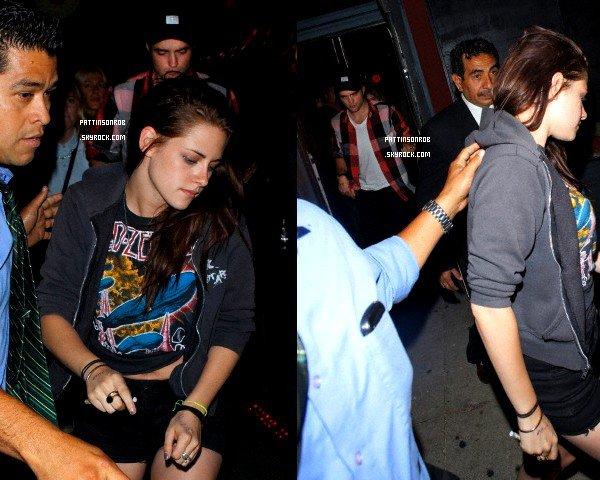 21 Juin 2012 : Robsten à Los Angeles   Rob a assisté au concert de Jenny Lewis. Cette fois, avec Kristen.