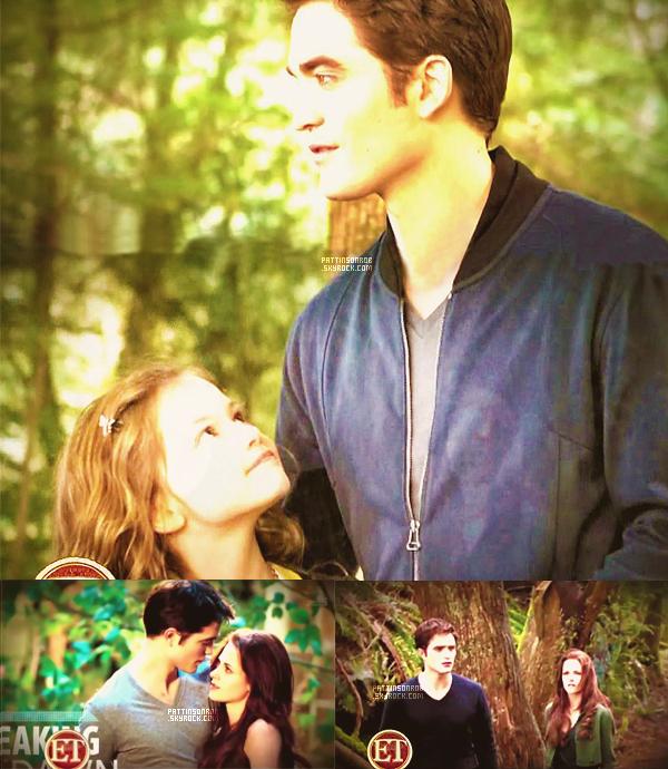 Edward et Bella dans Entertainement Weekly   Voici d'autres images de Breaking Dawn part 2.