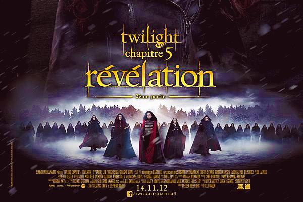 Affiche francaise de Twilight BD 2.