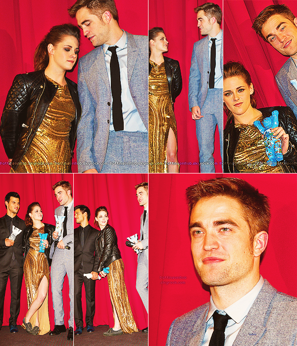16/11/12 ||  Promo de Breaking Dawn - part 2 à Berlin. (conférence de presse)
