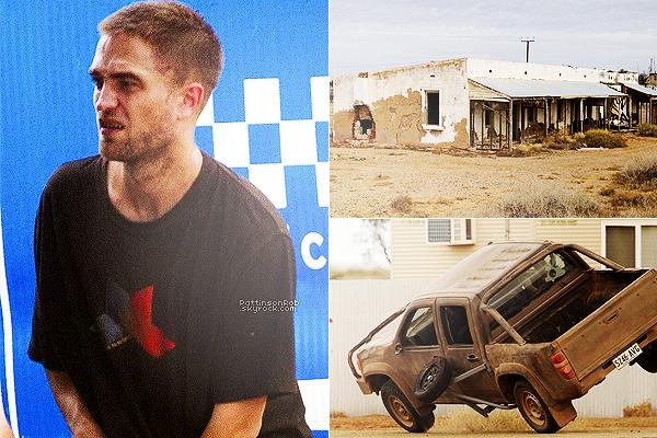 04/02/13 || Enfin d'autres photos du tournages de  « The Rover »  Nous avions eux aucune news de Rob pendant un mois quand même..