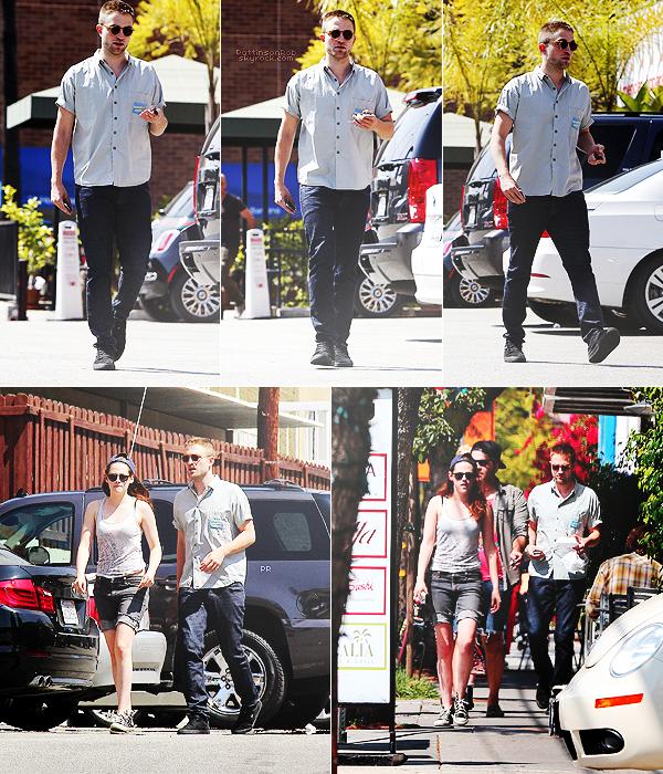 10/04/13 || Robsten et des amis, dans Los Angeles.