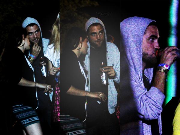 13/04/13 || Deuxième jour au festival de Coachella pour le couple. J'adooore les photos. ♥
