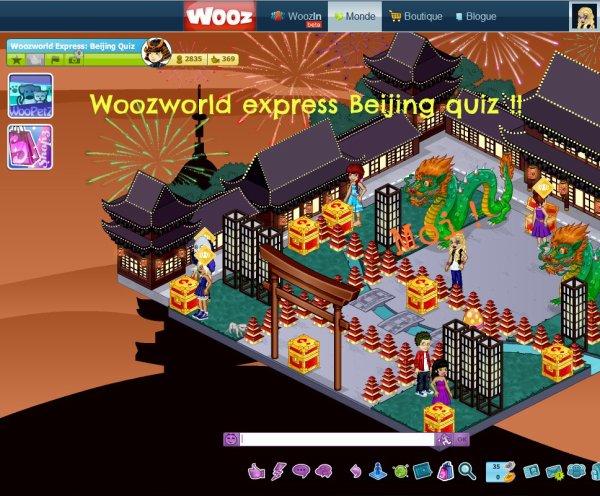 Quiz : Woozworld Express: Beijing quiz