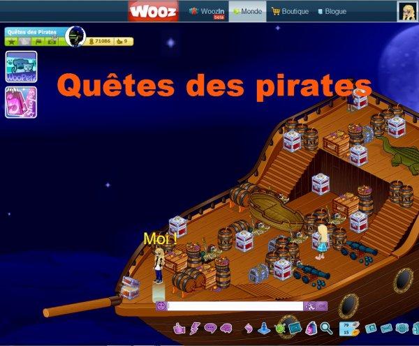 Quiz : Quêtes des pirates