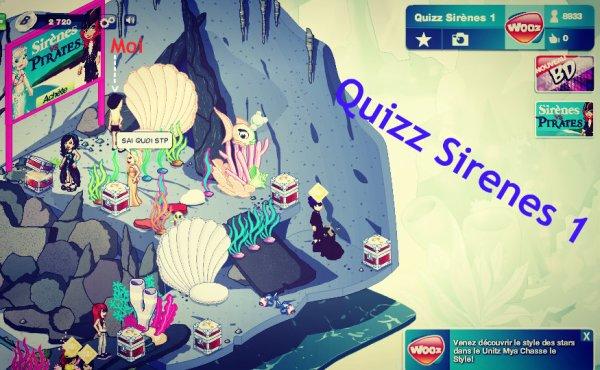 Quizz Sirène 1
