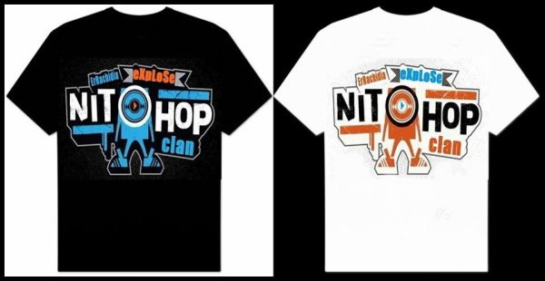 "T-shirt Nithop-Clan 2013 ALbum : ""Exsplose """