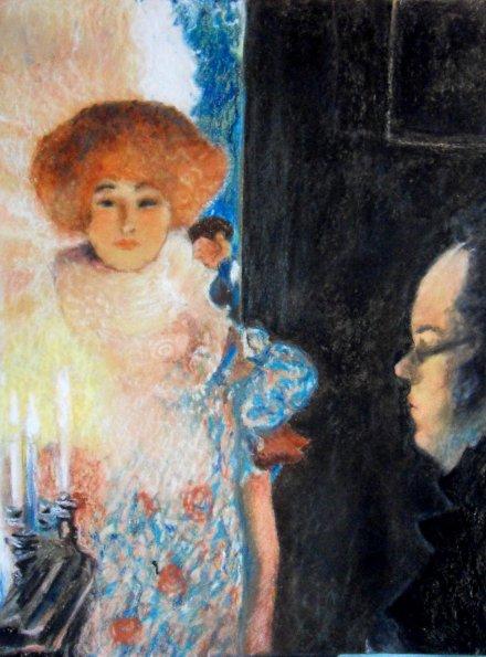 • Shuber au Piano de Klimt •
