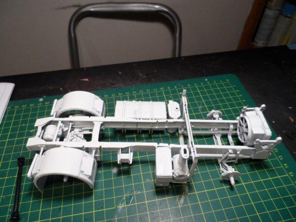 le chassis du magnum
