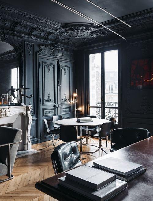 un interieur très parisien