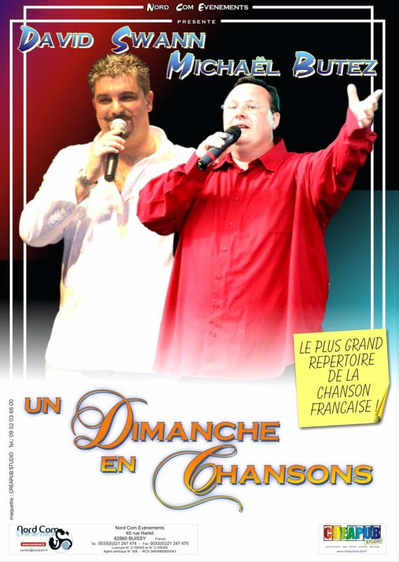 TOURNEE UN DIMANCHE EN CHANSONS