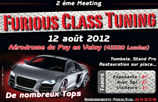 2ème meeting tuning de Loudes