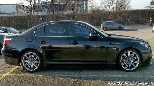 BMW M5 EN TROMPE-L'OEIL