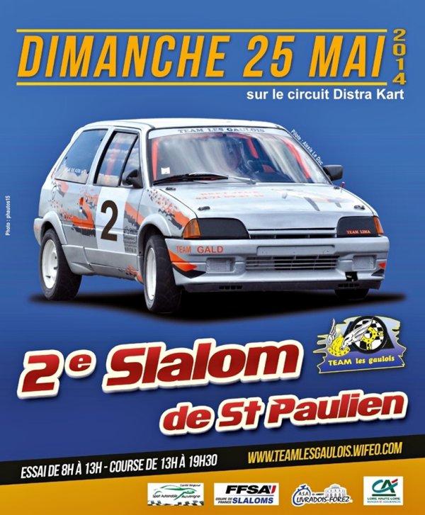 2ème Slalom de Saint-Paulien