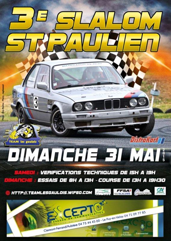 3ème Slalom de Saint-Paulien
