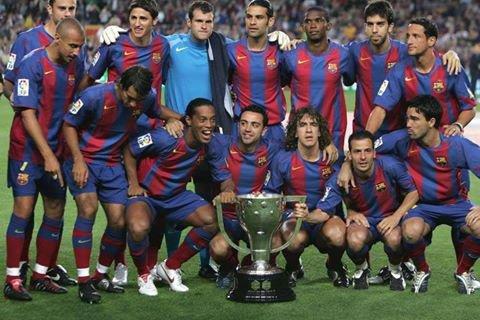 barça forte 2005 grand favoris equipe avec rajkard