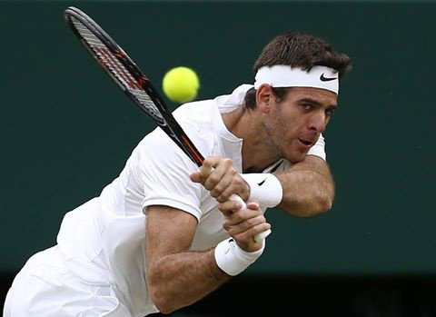GRAND JOUEURE TENNIS ARGNTAIN MARTIN DEL POTRO
