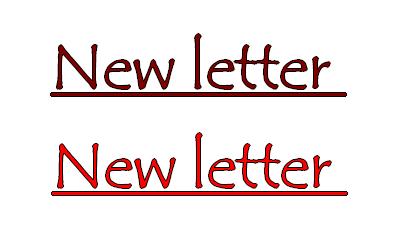 La New Letter♥
