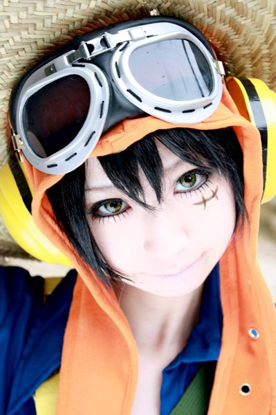 Cosplay Luffy ~