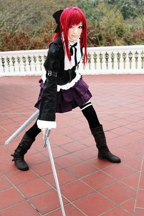 Cosplay Erza ~