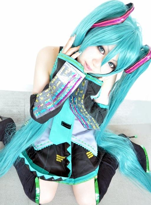 Cosplay Hatsume Miku ~