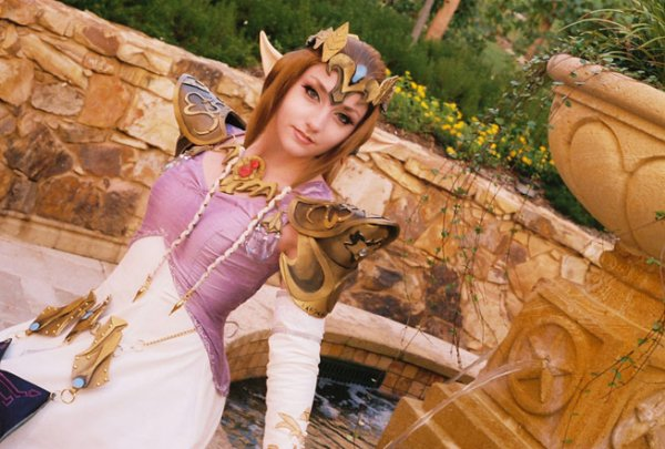 Cosplay princess Zelda ~