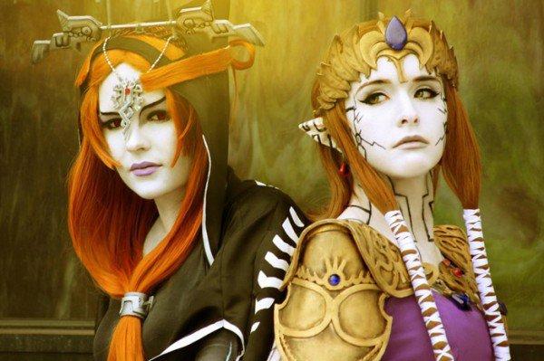 Cosplay Midna et princess Leila ~