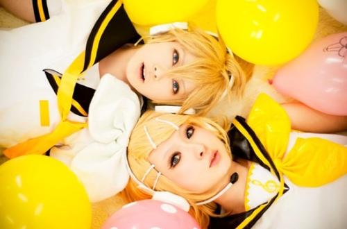 Cosplay Rin et Len ~