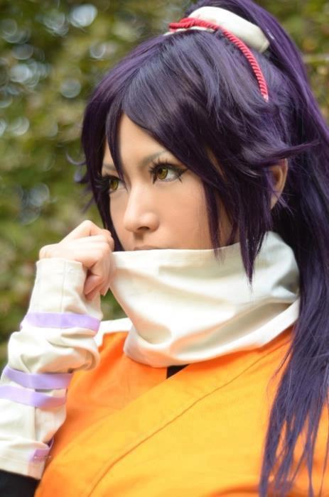 Cosplay Yoruichi ~