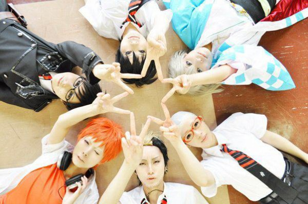Cosplay de groupe ~