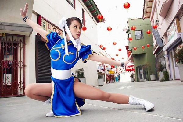 Cosplay Chun Li ~