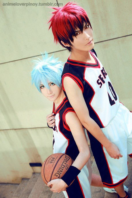 Cosplay Kuroko et Kagami ~