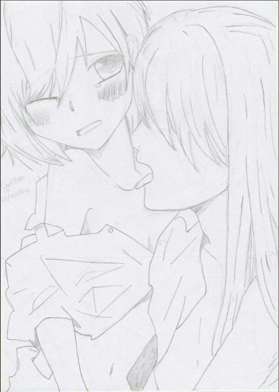 Ça faisait longtemps que je n'avais pas posté de dessin...