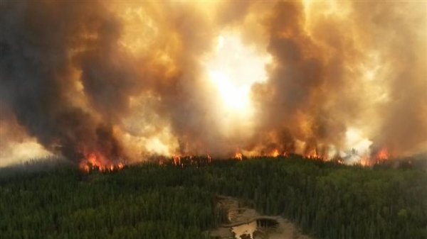 Fort McMurray fire  in Alberta, Canada.....  Very sad