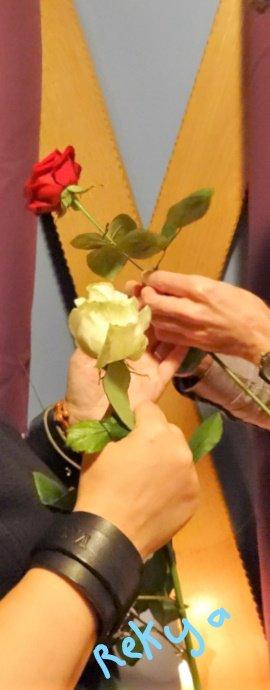 Cérémonie des roses