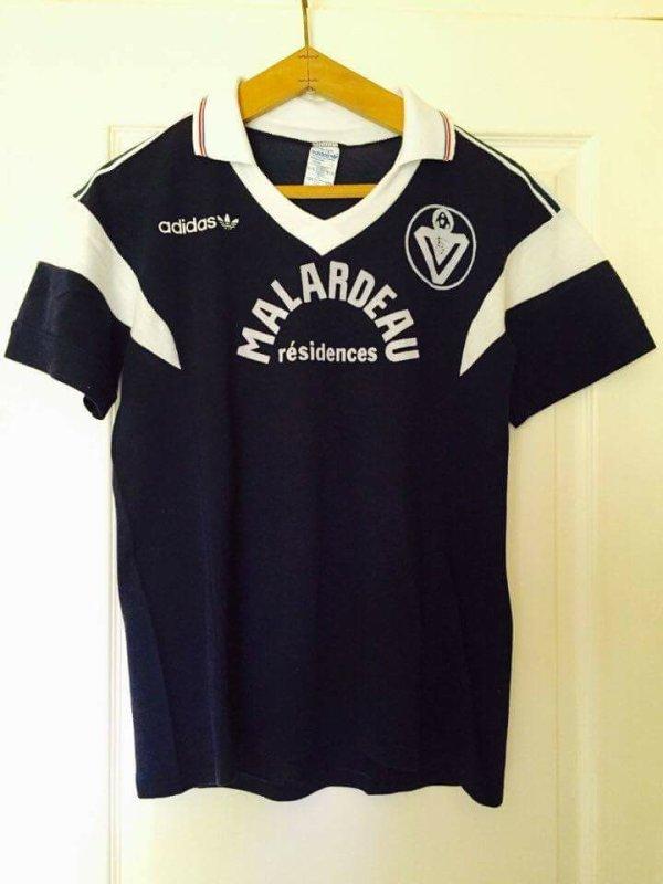Maillot porté Fernando Chalana    Bordeaux - Juventus 1985