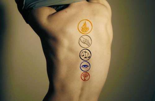 . Comment Divergent me donne des envies de tatouage...