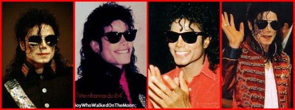 Michael et ses Ray Ban