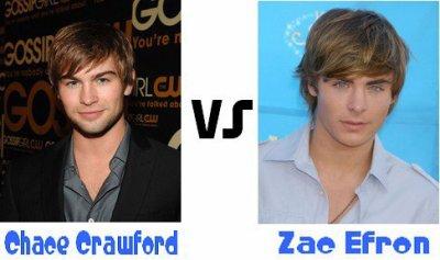 Zac Efon ou Chace Crawford ?