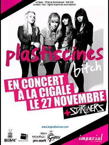 Dernier concert du Bitch Tour 2010 des Plastiscines !