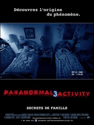 ♦ PARANORMAL ACTIVITY 3