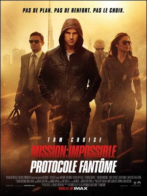 ♦ MISSION IMPOSSIBLE: PROTOCOLE FANTOME