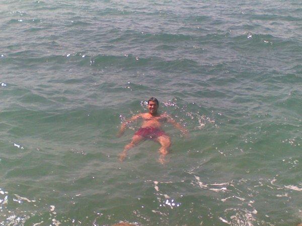 zohir a la plage