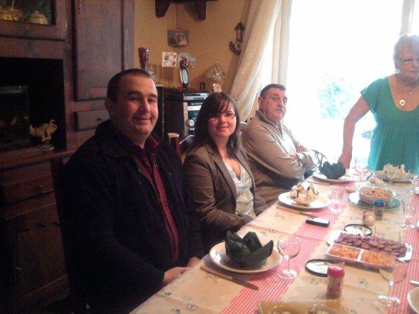 SAMEDI CHEZ MES PARENTS POUR LANIVERSAIRE DE MA PUCE