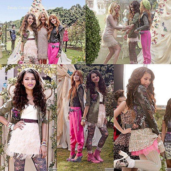 """.Découvre quelque que stills de Zendaya et Bella T., de leur clip """"Fashion is My Kryptonite"""".  ."""