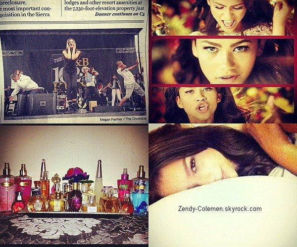 .Découvre plusieurs photo personnel de Zendaya posté sur son Twitter..