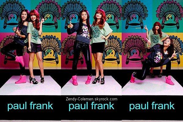 .06.09.2012 : Zendaya était en compagnie de Debby Ryan à une Fashion Week au West D'Hollywood..