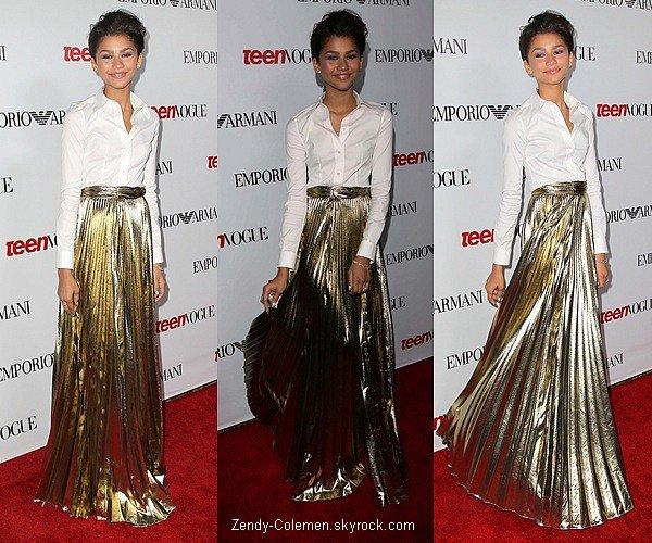 .27.09.2012: Miss Coleman s'es rendu au « Teen Vogue Young Hollywood Party »  à Los Angeles..