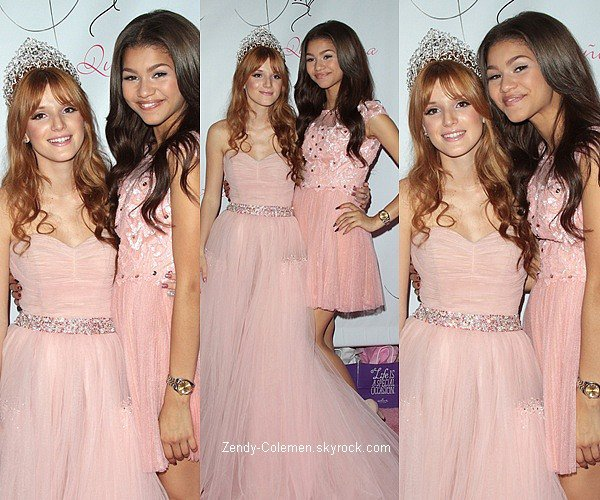 .20.10.2012 : Zendaya était présente de la quinceanera de sa BFF Bella Throne,à Los Angeles..